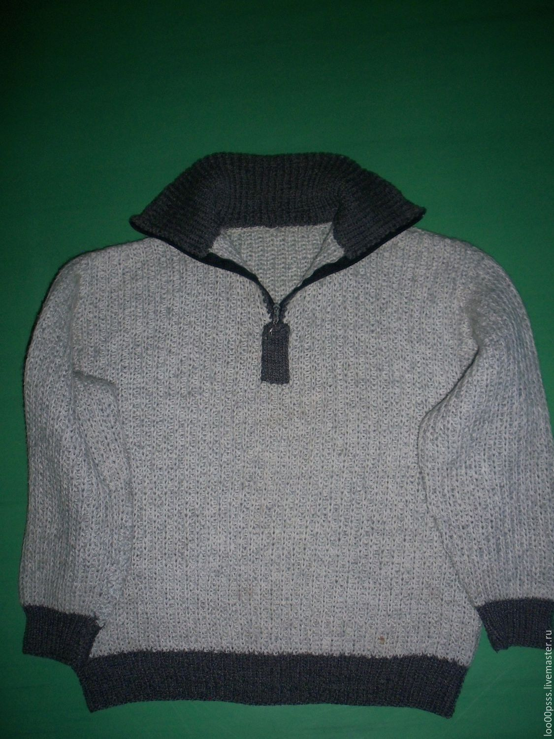 For Teenagers handmade. Livemaster - handmade. Buy The author's work. Pullover for boy.Silver, for boys