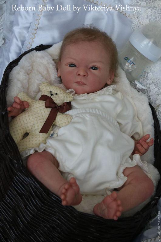 Куклы-младенцы и reborn ручной работы. Ярмарка Мастеров - ручная работа. Купить Линдочка. Handmade. Розовый, реборн на заказ
