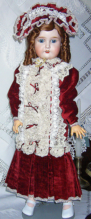 """Реставрация. Ярмарка Мастеров - ручная работа. Купить Антикварная кукла Адольф Вислизенус -""""Спешиал"""". Handmade. Кукла, Композит"""