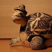 Для дома и интерьера ручной работы. Ярмарка Мастеров - ручная работа черепашка-копилка. Handmade.