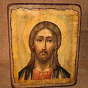 Картины и панно handmade. Livemaster - original item The Icon Of Our Savior Jesus Christ. Handmade.