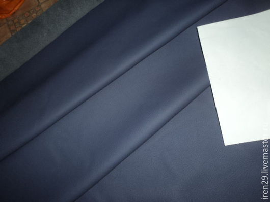 """Шитье ручной работы. Ярмарка Мастеров - ручная работа. Купить Натуральная кожа КРС """"Ночная фиалка"""" матовая. Handmade. Кожа"""