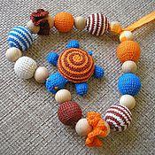 """Одежда ручной работы. Ярмарка Мастеров - ручная работа Можжевеловые слингобусы """"Песочная черепашка- 2"""". Handmade."""