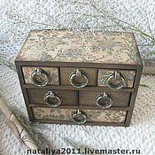 Для дома и интерьера handmade. Livemaster - original item Mini-chest