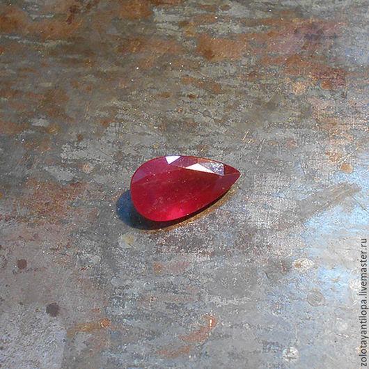 Для украшений ручной работы. Ярмарка Мастеров - ручная работа. Купить Природный рубин 9 карат(!). Handmade. Рубин