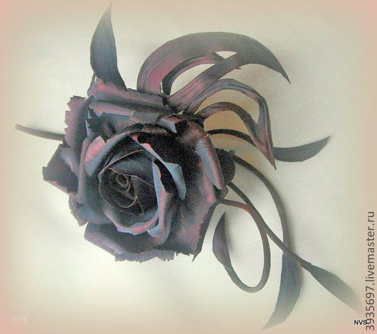 Броши ручной работы. Ярмарка Мастеров - ручная работа. Купить Цветы из ткани. Роза Зара. Handmade. Брошь, Аксессуары handmade