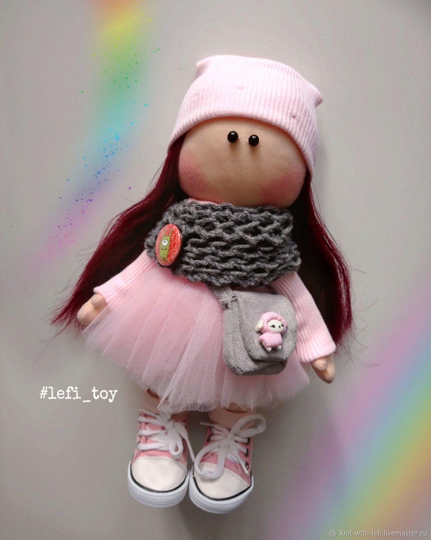 Кукла интерьерная Карамелька, Тыквоголовка, Рязань,  Фото №1