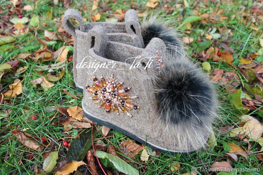 """Обувь ручной работы. Ярмарка Мастеров - ручная работа. Купить Валенки, модель """"Восточные"""". Handmade. Валенки, зимняя обувь, валенки"""
