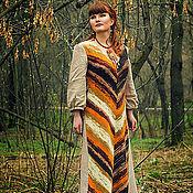 Одежда ручной работы. Ярмарка Мастеров - ручная работа Платье Ягоды можжевельника. Handmade.