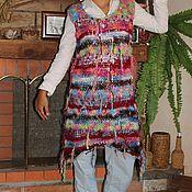 Одежда ручной работы. Ярмарка Мастеров - ручная работа Жилет  в стиле бохо. Handmade.