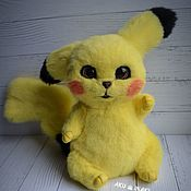 Куклы и игрушки handmade. Livemaster - original item Pikachu is a mobile toy. Handmade.