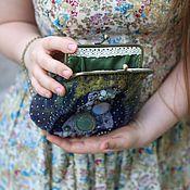 Сумки и аксессуары ручной работы. Ярмарка Мастеров - ручная работа Вечерняя сумочка с фермуаром. Handmade.