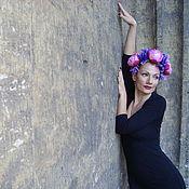 Аксессуары ручной работы. Ярмарка Мастеров - ручная работа Волосы ей убрали цветами и птичьим пением. Handmade.