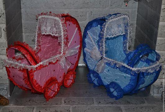 Свадебные аксессуары ручной работы. Ярмарка Мастеров - ручная работа. Купить Свадебные аксессуары. Handmade. Голубой, розовый, лента атласная