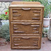 Для дома и интерьера handmade. Livemaster - original item Chest of drawers in rustic style,wardrobe for clothes, for shoes. Handmade.