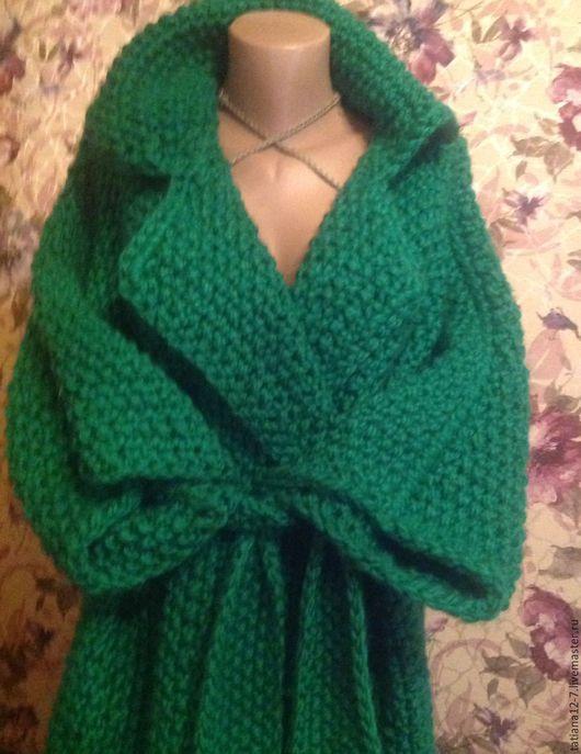 """Верхняя одежда ручной работы. Ярмарка Мастеров - ручная работа. Купить """" Esmeralda"""" эксклюзивное пальто ручной работы. Handmade."""
