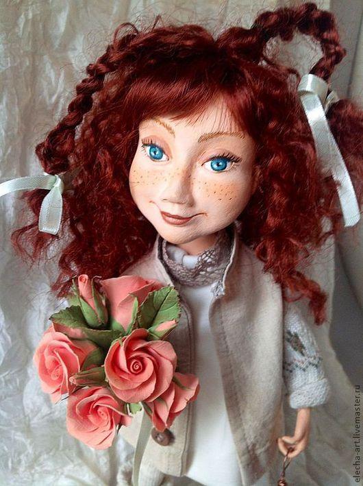 Коллекционные куклы ручной работы. Ярмарка Мастеров - ручная работа. Купить Авторская кукла из полимерной глины Маруся.. Handmade.