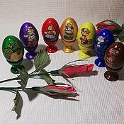 Игровые наборы ручной работы. Ярмарка Мастеров - ручная работа Сказка на деревянная яйцах. Handmade.