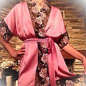 """Одежда ручной работы. Ярмарка Мастеров - ручная работа Пеньюар """"Прикосновение нежности"""". Handmade."""