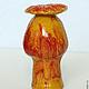 Подсвечники ручной работы. Ярмарка Мастеров - ручная работа. Купить Подсвечник-мак, карандашница, мини-ваза для сухого цветка. Handmade.