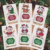 Сувениры и подарки handmade. Livemaster - original item Mini CHRISTMAS presents. Handmade.