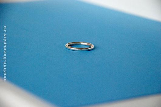 """Кольца ручной работы. Ярмарка Мастеров - ручная работа. Купить Кольцо """"Круглое"""". Handmade. Серебро, серебряное кольцо, простое кольцо"""