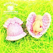 """Косметика ручной работы. Ярмарка Мастеров - ручная работа Набор мыла """"С Новорожденной!"""" (вар.2). Handmade."""