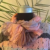 """Аксессуары ручной работы. Ярмарка Мастеров - ручная работа Шарф """"Розовый кварц"""". Handmade."""