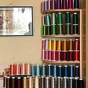 Нитки ручной работы. Ярмарка Мастеров - ручная работа НИТКИ для машинной вышивки ( полиэстер), 5000. Handmade.
