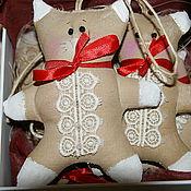 """Куклы и игрушки ручной работы. Ярмарка Мастеров - ручная работа Елочные игрушки """"Пряники"""". Handmade."""