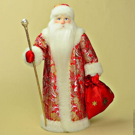 Новогодний подарок Дед Мороз Новогодний Подарки на Новый Год 2016. Кукла ручной работы от мастерской Кукла в Подарок. Место изготовления - Москва. Доставка Почтой России в регионы и другие страны.