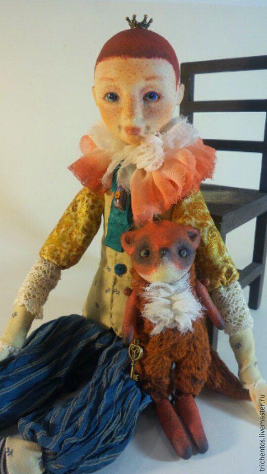 Коллекционные куклы ручной работы. Ярмарка Мастеров - ручная работа. Купить Маленький принц. Handmade. Маленький принц, мальчик