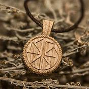 Русский стиль handmade. Livemaster - original item Pendant made of wood