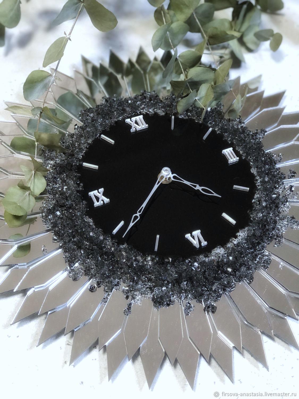 Часы зеркальные : Silver, Часы классические, Санкт-Петербург,  Фото №1