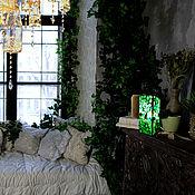 Для дома и интерьера handmade. Livemaster - original item Table bright decorative green lamp Fresh green. Handmade.