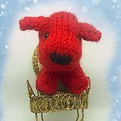 Куклы и игрушки handmade. Livemaster - original item Soft toy Puppy