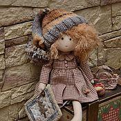 Куклы и игрушки ручной работы. Ярмарка Мастеров - ручная работа Растрепыши тоже шьют.  Здравствуй, Елка!. Handmade.