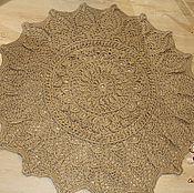 Для дома и интерьера handmade. Livemaster - original item Carpet jute