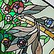 Элементы интерьера ручной работы. Ярмарка Мастеров - ручная работа. Купить Улиточки.Витраж. Handmade. Витраж, модерн, художественное стекло