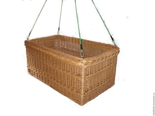 Детская ручной работы. Ярмарка Мастеров - ручная работа. Купить Люлька - кроватка для детей, плетеная из натуральной, древесной лозы. Handmade.