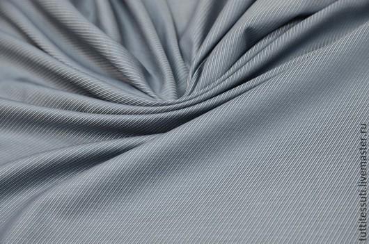 Шитье ручной работы. Ярмарка Мастеров - ручная работа. Купить Блузочная ткань 12-003-2122. Handmade. Серый