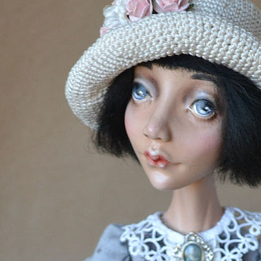 Dolls & toys handmade. Livemaster - original item Collector`s doll Fanny. series