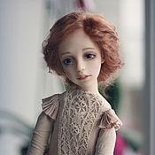 Куклы и игрушки ручной работы. Ярмарка Мастеров - ручная работа Арина. Подвижная кукла. Handmade.