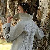 """Одежда ручной работы. Ярмарка Мастеров - ручная работа Пальто """"Морозные узоры"""". Handmade."""