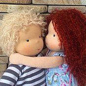 Куклы и игрушки ручной работы. Ярмарка Мастеров - ручная работа Эмма и Джошуа. Handmade.