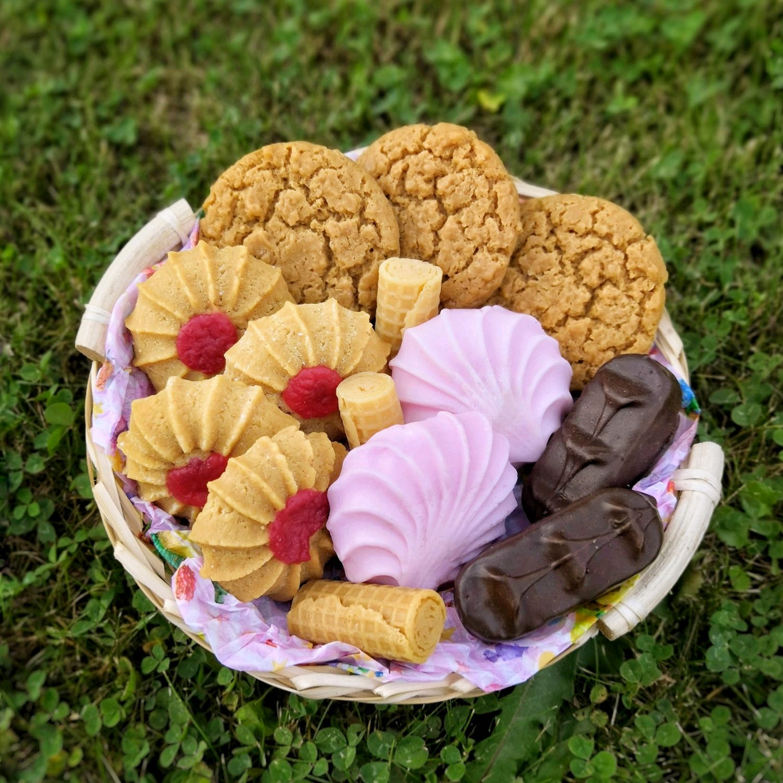 Basket of soap desserts, Soap, St. Petersburg,  Фото №1