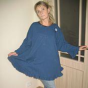 Одежда ручной работы. Ярмарка Мастеров - ручная работа бохо блуза-платье. Handmade.
