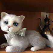 Куклы и игрушки ручной работы. Ярмарка Мастеров - ручная работа Кошечка. Handmade.