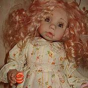 Куклы и игрушки ручной работы. Ярмарка Мастеров - ручная работа Ангелочек с мандаринкой :). Handmade.