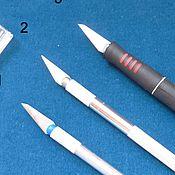 Материалы для творчества ручной работы. Ярмарка Мастеров - ручная работа Нож макетный цанговый универсальный для пластика, бумаги, дерева, кожи. Handmade.